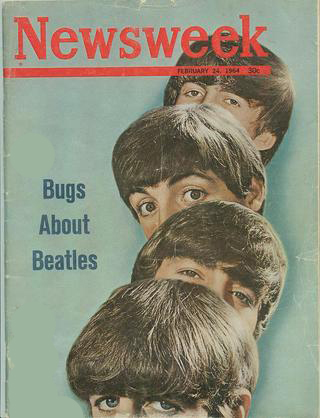 Cover story about the Beatles