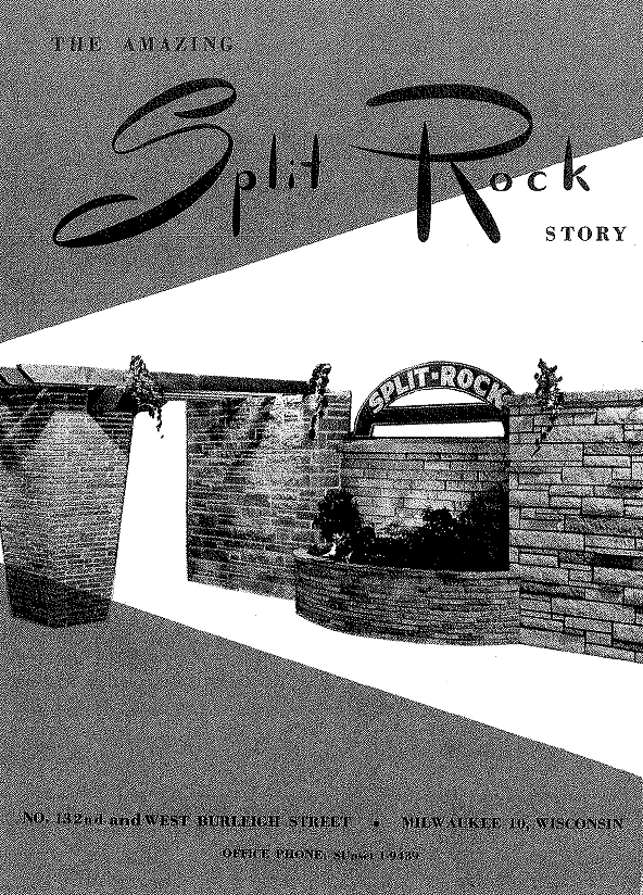 Split Rock Products Brochure Cover